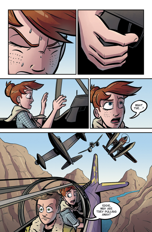 josh ulrich jackie rose air pirates adventure sky pirates comics web comics webcomics